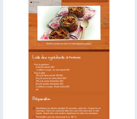 Auteur et photographe culinaire – Création de recettes bio pour l'agence bio