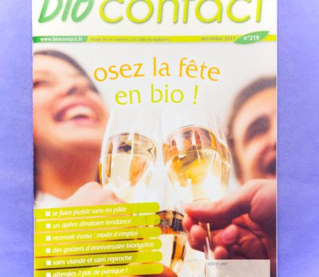 Auteur culinaire – Bio contact