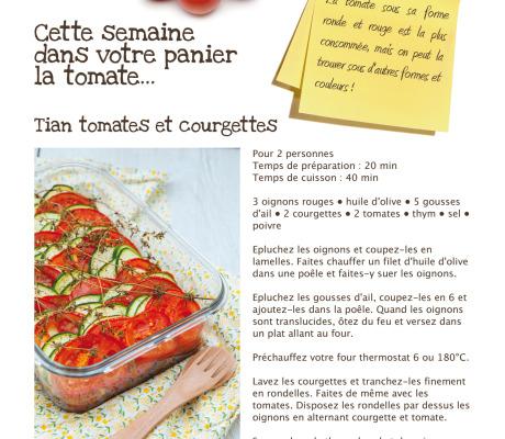 Recettes et photo culinaire dans le panier «bio culture»